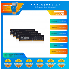 KLEVV Value 16GB (1x16GB) DDR4 3200MHz (KD4AGU88C-32N220A)