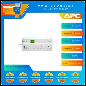 APC PM6U 6 Surge Protector (6x UK Socket, 2x USB, 2M)