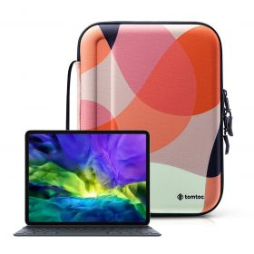 "Tomtoc Smart A06 Padfolio Eva Case (Fits 11"" iPad Pro, Mixed Orange)"