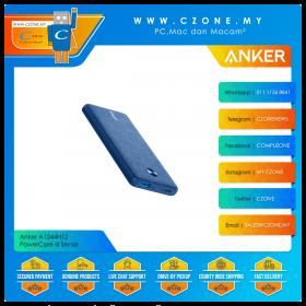 Anker A1231H31 PowerCore III Sense 10K 10,000mAh Power Bank with PD 18W (Blue)