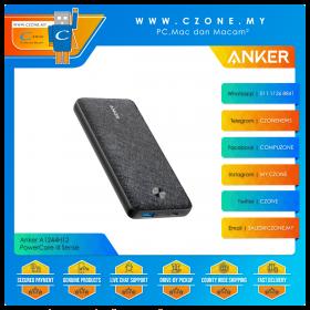 Anker A1244H12 PowerCore III Sense 10K 10,000mAh Power Bank with PD 20W (Black)