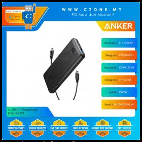 Anker A1281H11 Powercore Essential PD 20,000mAh Power Bank (Black)