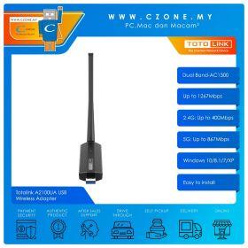 Totolink A2100UA USB Wireless Adapter (Dual Band-AC1300)