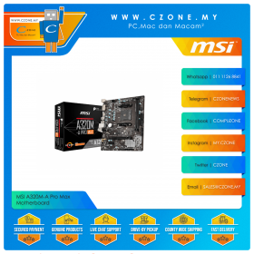 MSI A320M-A Pro Max Motherboard