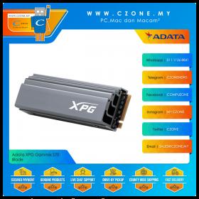Adata XPG Gammix S70 Blade 1TB M.2 2280 NVMe Gen4 SSD (R: 7400Mbps, W: 6400Mbps)