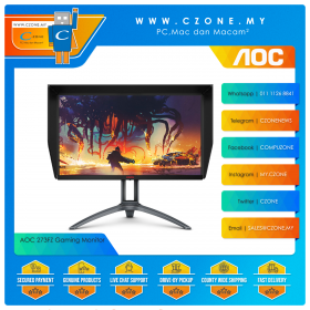 """AOC 273FZ Gaming Monitor (27"""", 1920x1080, IPS, 240Hz, 1ms, D-Sub, HDMIx2, DPx2)"""