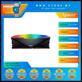 Apacer Nox 8GB RGB DDR4 3000MHz - Black (AH4U08G30C08YNBAA-1)
