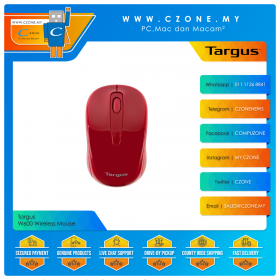 Targus W600 Wireless Mouse (Red)