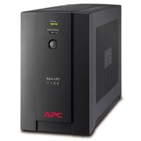 APC BX1400U-MS UPS (1400VA, 4x Universal And 2x IEC Sockets, Battery Backup, USB Management)