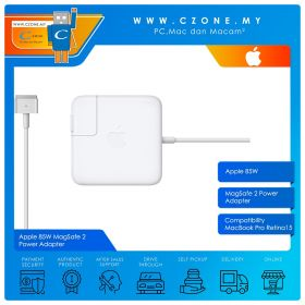 """Apple 85W MagSafe 2 Power Adapter for MacBook Pro Retina 15"""""""
