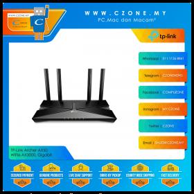 TP-Link Archer AX50 Wireless Router (WiFi6-AX3000, Gigabit)
