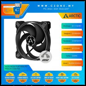 Arctic Bionix P140 PWM PST Pressure Case Fan (1x 140mm, 4-pin PWM, Non-LED, Grey/Black)