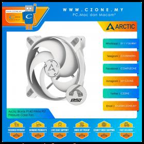 Arctic Bionix P140 PWM PST Pressure Case Fan (1x 140mm, 4-pin PWM, Non-LED, Grey/White)