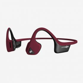 Aftershokz Trekz Air Wireless Bone Conduction Sports Headphones (Canyon Red)