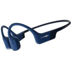 Aftershokz Aeropex Wireless Bone Conduction Sports Headphones (Blue Eclipse)