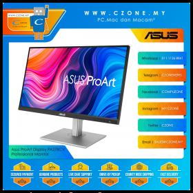"""Asus ProArt Display PA278CV Professional Monitor (27"""", 2560x1440, IPS, 75Hz, 5ms, sRGB 100%, HDMI, DP x2, USB-C x2, USB3.1 x4, Speaker, VESA)"""