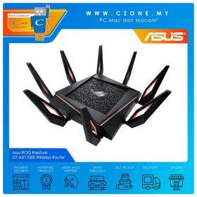 Asus ROG Rapture GT-AX11000 Wireless Router (Tri Band-AX11000, AiMesh, 10-Gigabit, Gaming)