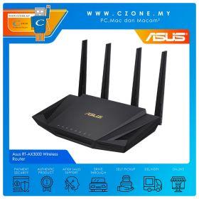 Asus RT-AX3000 Wireless Router (WiFi6-AX3000, AiMesh, Gigabit)