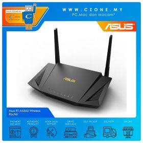 Asus RT-AX56U Wireless Router (WiFi6-AX1800, AiMesh, Gigabit)