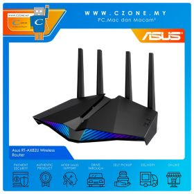 Asus RT-AX82U Wireless Router (WiFi6-AX5400, AiMesh, Gigabit)