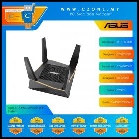 Asus RT-AX92U AiMesh WiFi System 1 Pack (Tri Band-AX6100, AiMesh, Gigabit)