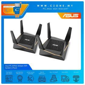 Asus RT-AX92U AiMesh WiFi System 2 Pack (Tri Band-AX6100, AiMesh, Gigabit)