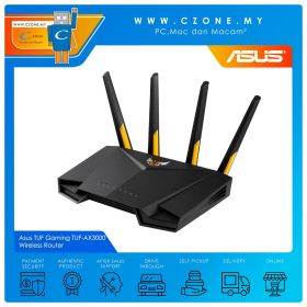Asus TUF Gaming TUF-AX3000 Wireless Router (WiFi6-AX3000, AiMesh, Gigabit)