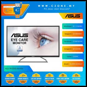 """Asus VA32UQ Monitor (32"""", 3840x2160, VA, 60Hz, 4ms, HDMI x2, DP, Speaker)"""