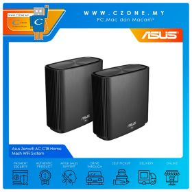 Asus Zenwifi AC CT8 Home Mesh WiFi System (Tri Band-AC3000)