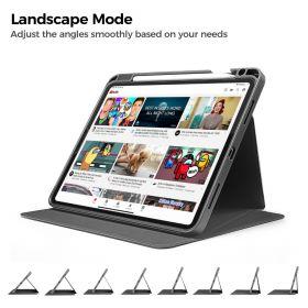 "Tomtoc Vertical Case (iPad Pro 11"" 2nd/1st Gen, Black)"