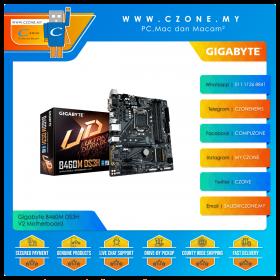 Gigabyte B460M DS3H V2 Motherboard (Chipset B460, mATX, Socket 1200)