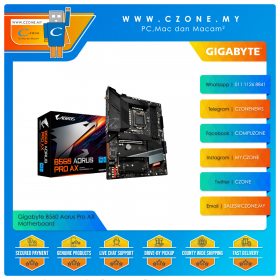 Gigabyte B560 Aorus Pro AX Motherboard (Chipset B560, WiFi+BT, mATX, Socket 1200)