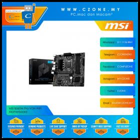 MSI B560M Pro-VDH WiFi Motherboard (Chipset B560, WiFi+BT, mATX, Socket 1200)