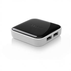 Belkin F4U020AK Powered Desktop 4 Port USB 2.0 Hub