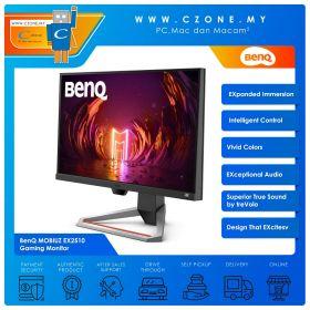 """BenQ MOBIUZ EX2510 Gaming Monitor (24.5"""", 1920x1080, IPS, 144Hz, 1ms, HDMIx2, DP, Speakers, VESA)"""