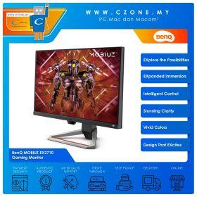 """BenQ MOBIUZ EX2710 Gaming Monitor (27"""", 1920x1080, IPS, 144Hz, 1ms, HDMIx2, DP, Speakers, VESA)"""