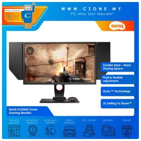 "BenQ XL2546K Zowie Gaming Monitor (24.5"", 1920x1080, TN, 240Hz, 0.5ms, HDMIx3, DP, VESA)"