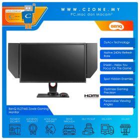 "BenQ XL2746S Zowie Gaming Monitor (27"", 1920x1080, TN, 240Hz, 0.5ms, DVI, HDMI, DP, VESA)"
