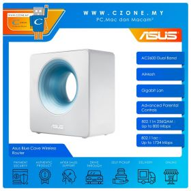 Asus Blue Cave Wireless Router (Dual Band-AC2900, AiMesh, Gigabit)