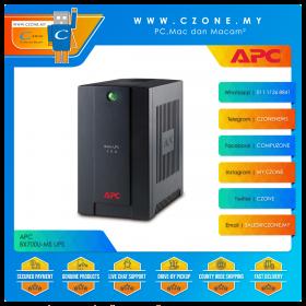 APC BX700U-MS UPS (700VA, 2x Universal And 1x IEC Sockets, Battery Backup, USB Management)