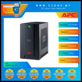 APC BX800LI-MS UPS (800VA, 2x Universal And 1x IEC Sockets, Battery Backup)