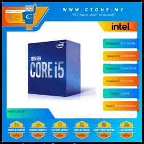 Intel Core i5-10400 Processor (2.9GHz, 6Cores, 12Threads, 12MB Cache, UHD Graphics, Socket 1200)
