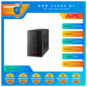 APC BX950U-MS UPS (950VA, 4x Universal And 2x IEC Sockets, Battery Backup, USB Management)