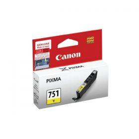 Canon CLI-751 Y Ink Cartridge (Yellow, 7ml)