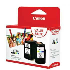Canon PG-810 + CL-811 Ink Cartridge Value Pack (9ml)