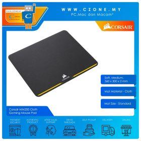 Corsair MM200 Cloth Gaming Mouse Pad (Soft, Medium, 360 x 300 x 2 mm)
