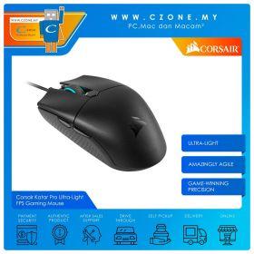 Corsair Katar Pro Ultra-Light FPS/MOBA Gaming Mouse (Black)
