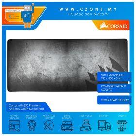 Corsair MM350 Premium Anti-Fray Cloth Mouse Pad (Soft, Extended XL, 930 x 400 x 5mm)