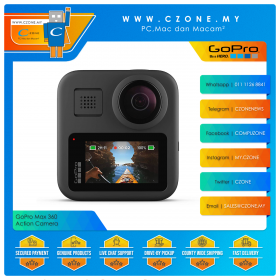 GoPro Max 360 Degree Camera Special Bundle (Battery)