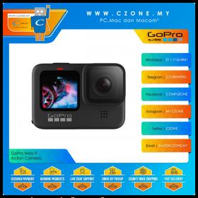 GoPro Hero 9 Black Action Camera Special Bundle (3-Way Grip/ Arm/ Tripod)